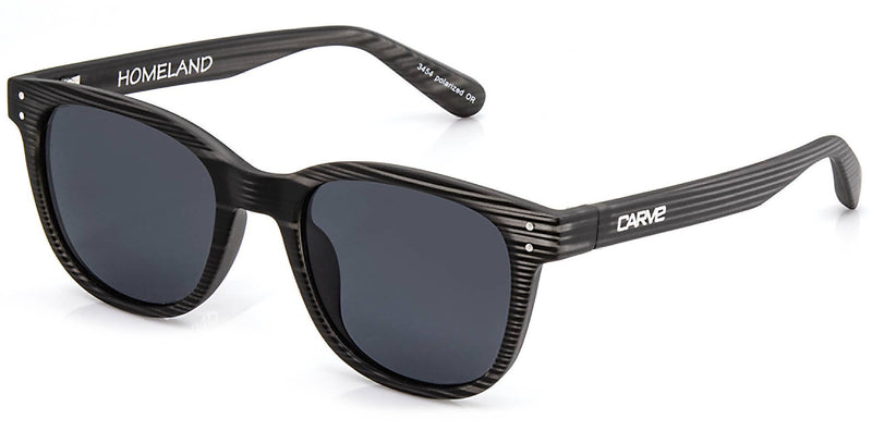 Carve Homeland Grey Streak /Grey Polarised - Board Store CarveSunglasses