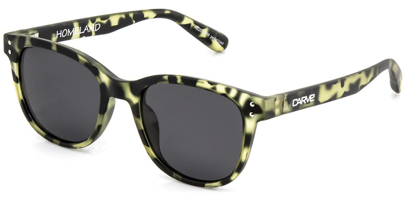 Carve Homeland Olive Tort Polarised - Board Store CarveSunglasses
