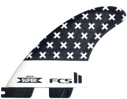 FCS II SUPER PC RETAIL TRI FINS - Board Store FCSFins