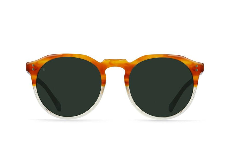 RAEN Remmy 49 Honey Havana/Green - Board Store RaenSunglasses