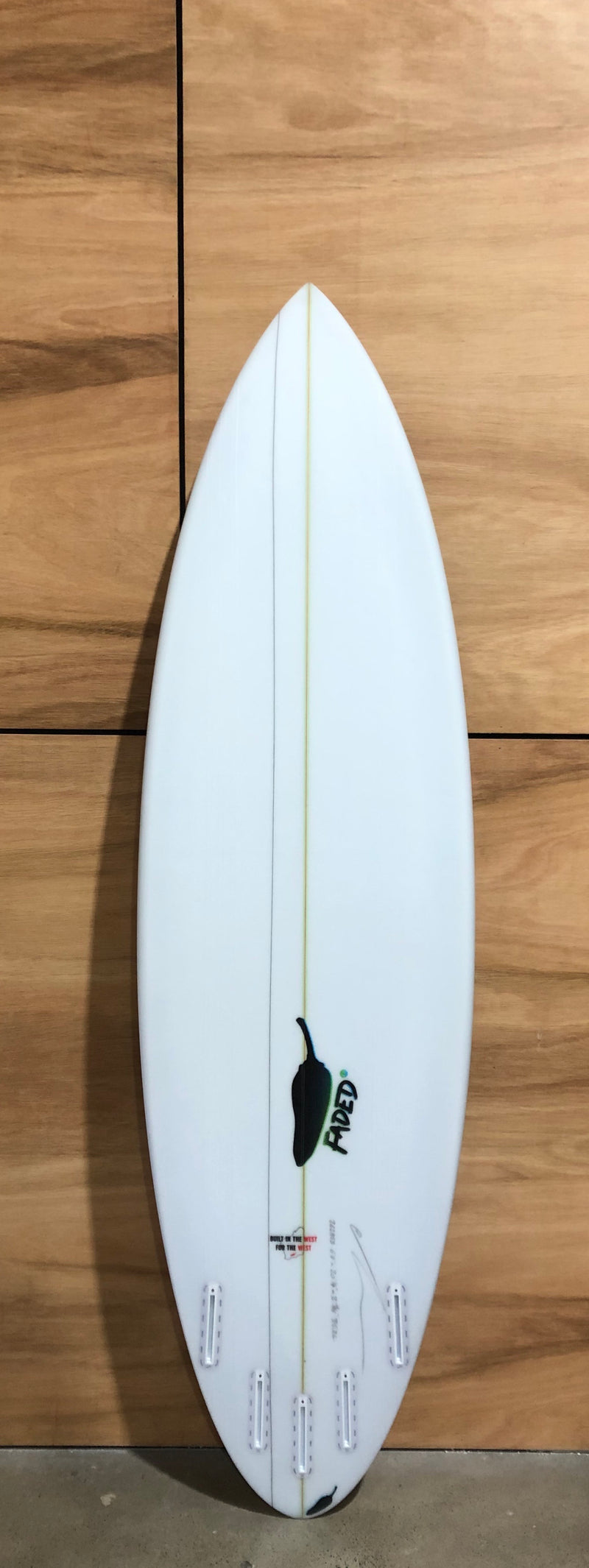 Chilli Faded 2.0 - Built In The West - Board Store ChilliSurfboard