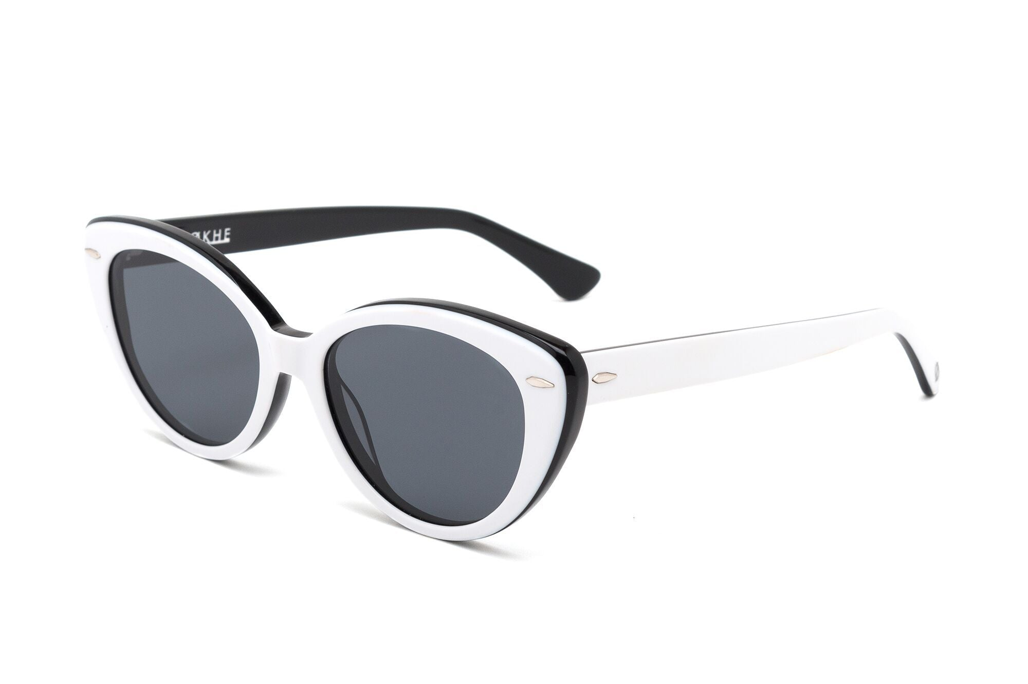 Epokhe POKA - WHITE BLACK POLISHED/BLACK - Board Store EpokheSunglasses