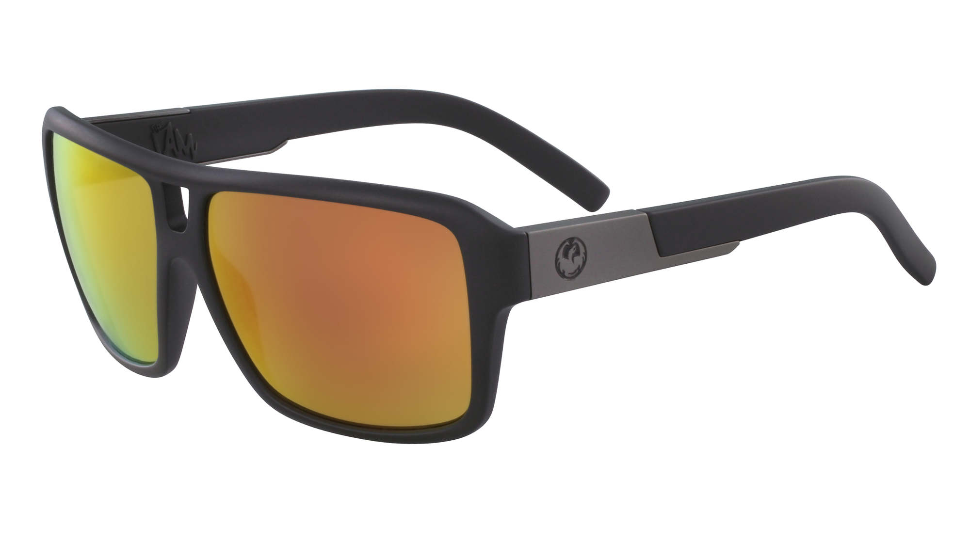Dragon The Jam Matte Black/Red Ionised - Board Store Dragon AllianceSunglasses