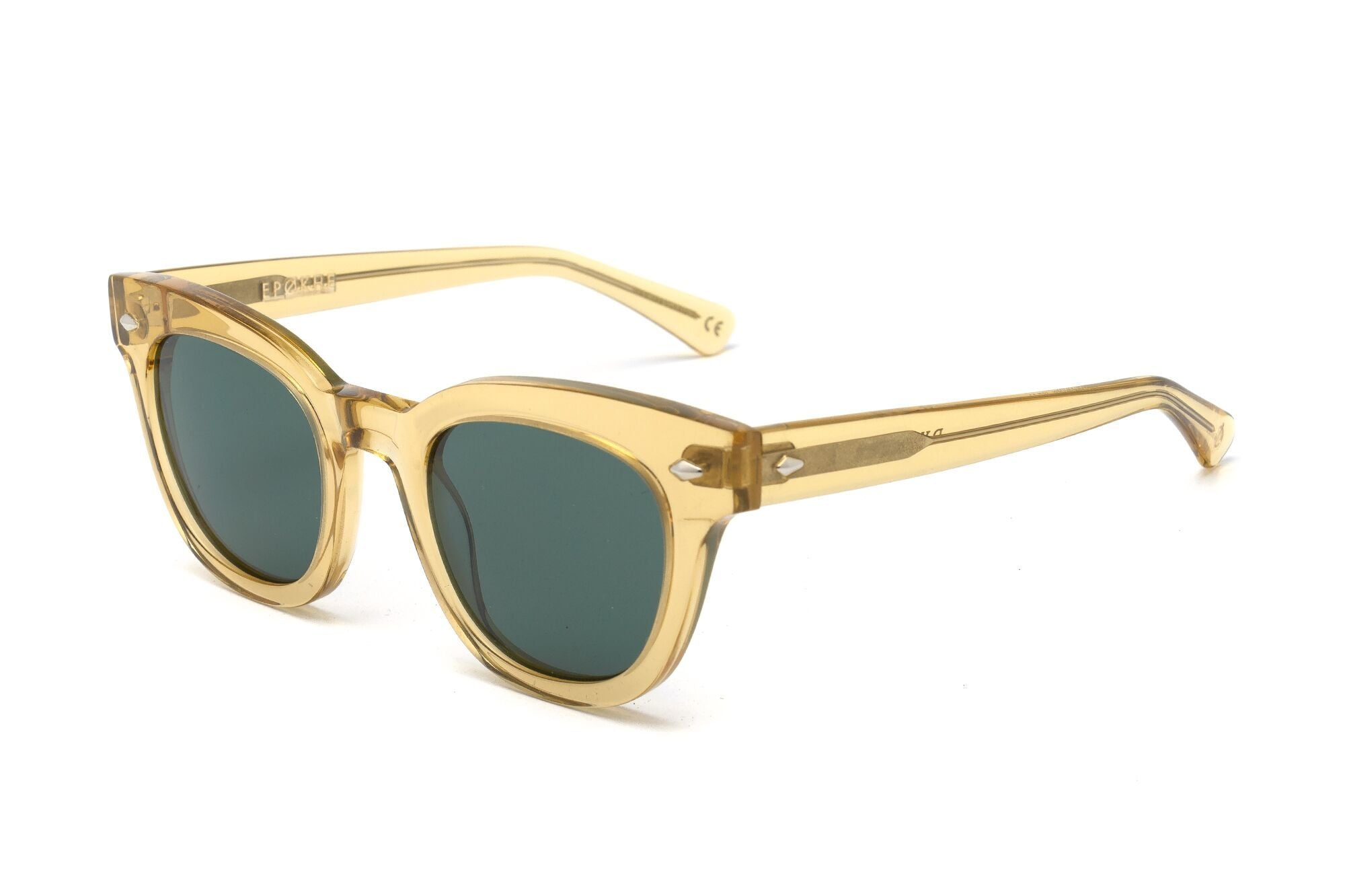 Epokhe DYLAN - CITRINE POLISHED/GREEN - Board Store EpokheSunglasses