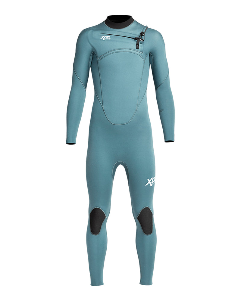 XCEL YOUTH COMP 4/3MM WETSUIT - TINFOIL 2021 - Board Store XcelWetsuits