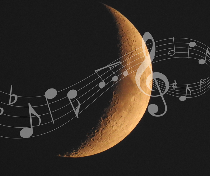 Classical Music and The Moon
