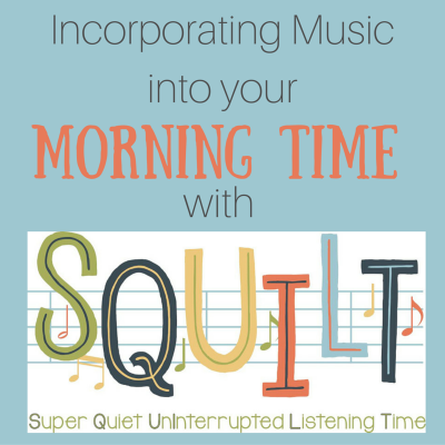Incorporating Music Into Your Morning Time With SQUILT