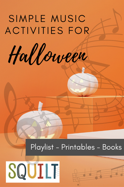 Simple Music Activities for Halloween