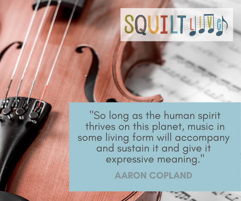 Aaron Copland quote - SQUILT Music Appreciation