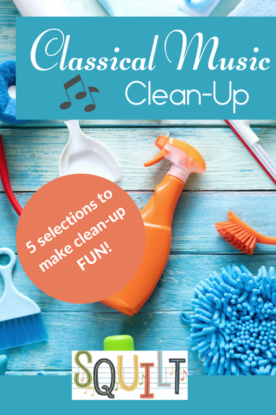 Classical Music for Clean-Up #homeschool #musiceducation