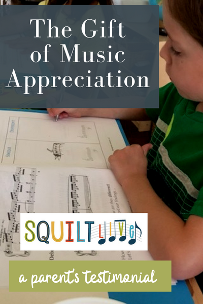 The Gift of Music Appreciation : SQUILT LIVE! - a parent's testimonial
