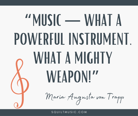 The Importance of Music Education in Your Child's Life #homeschool #squilt