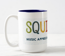 Load image into Gallery viewer, SQUILT LIVE! Deluxe Two Tone Mug