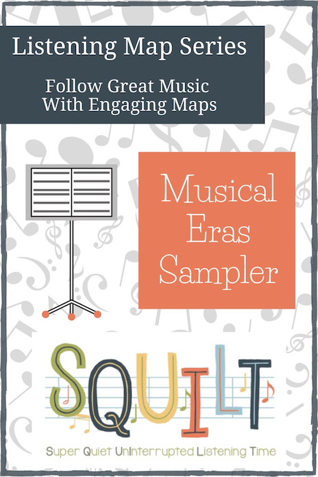 Listening Map Series: Musical Eras Sampler