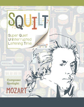 Load image into Gallery viewer, Squilt Music Appreciation Composers SQUILT Spotlight - Mozart