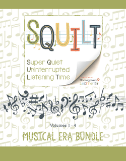 Squilt Music Appreciation Eras Musical Era Bundle