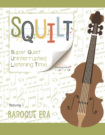 Squilt Music Appreciation Eras Volume 1 - Baroque Era