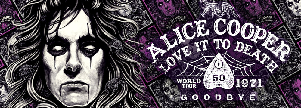 Alice Cooper Love It To Death 50th Anniversary