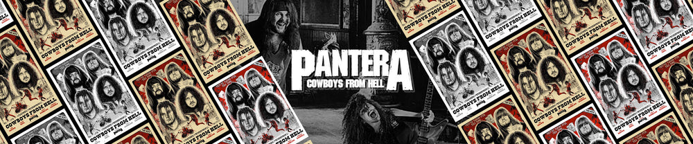 Behind the Poster: Pantera Cowboys From Hell 30th Anniversary