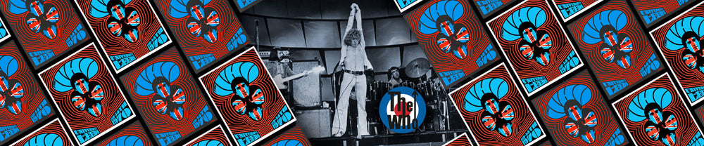 Behind the Poster: The Who, University of Leeds, February 14, 1970 (Print 2 of Set)