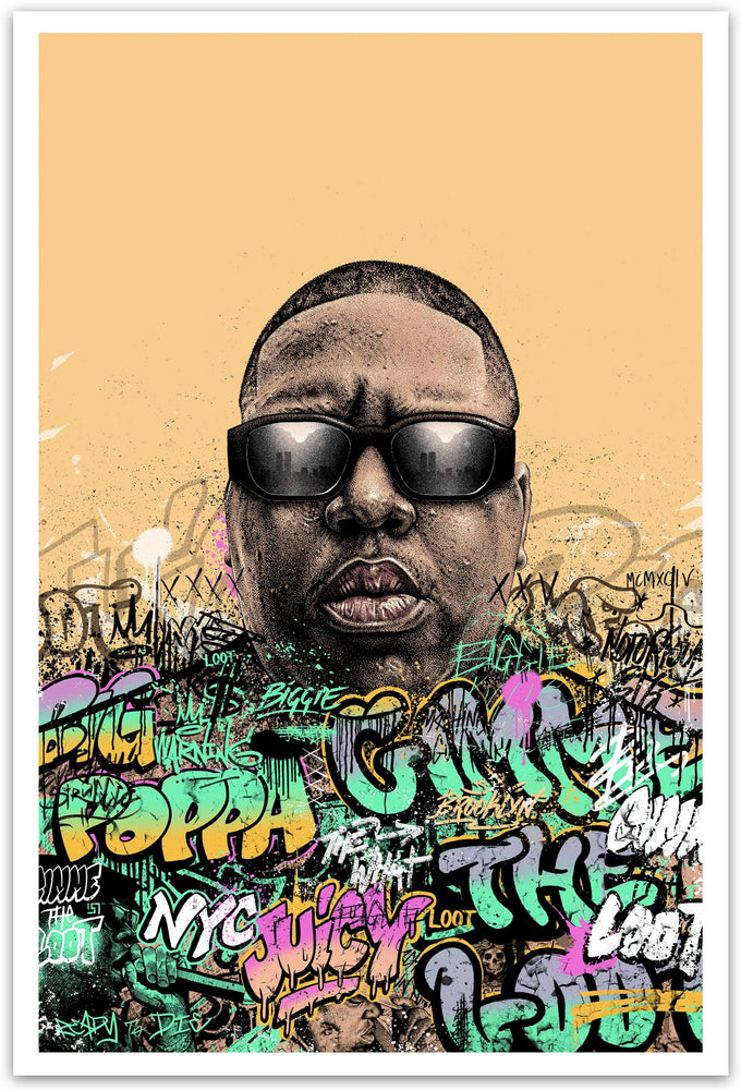 Notorious B.I.G. Ready to Die by Paul Jackson (Variant Edition)