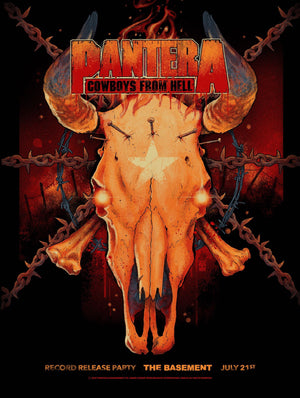 Pantera Dallas 1990 at The Basement by Vance Kelly (Main Edition)