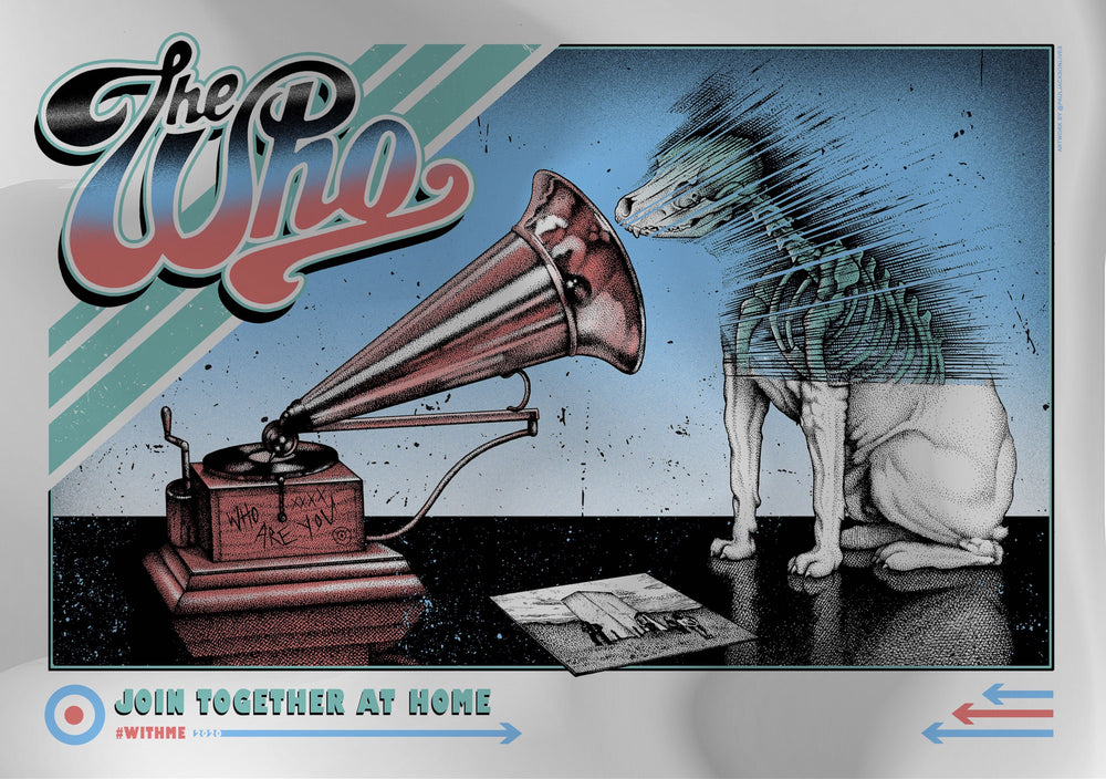 The Who - Join Together @ Home by Paul Jackson (Mirror Foil)