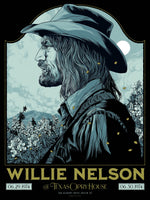 Willie Nelson Austin 1974 by Ken Taylor (Variant Edition)