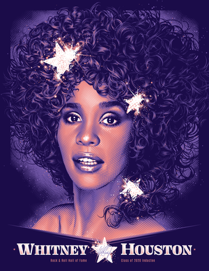 Whitney Houston Hall of Fame by Tracie Ching (Main Edition)