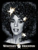 Whitney Houston Hall of Fame by Tracie Ching (Variant Edition)
