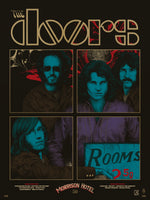 The Doors Morrison Hotel Print by Richey Beckett (Roadhouse Blues Edition)