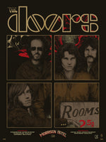 The Doors Morrison Hotel Print by Richey Beckett (Indian Summer Edition)