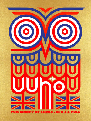 The Who Leeds #1 1970 by Ames Bros (Golden Owl Edition)