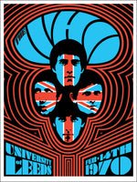 The Who Leeds #2 1970 by Ames Bros (Glow In Dark Edition)