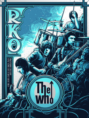 The Who New York City 1967 by Dan Mumford (Pearlescent Variant Edition)