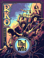 The Who New York City 1967 by Dan Mumford (Main Edition)