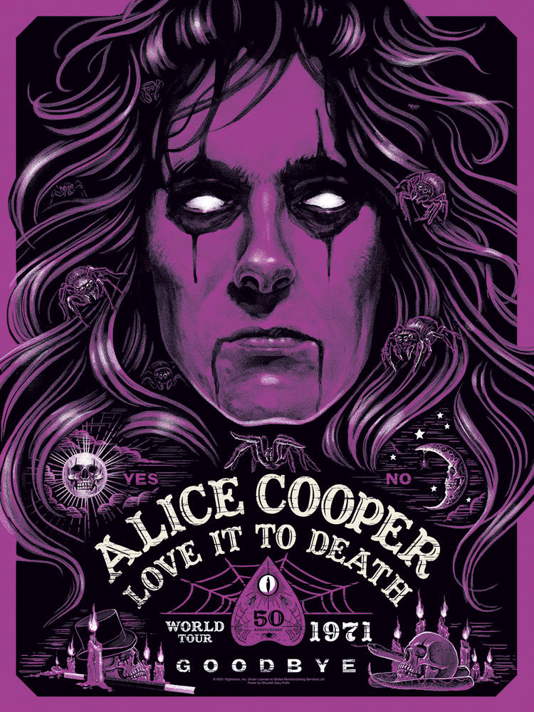 Alice Cooper Love It To Death 50th Anniversary (Variant Edition)