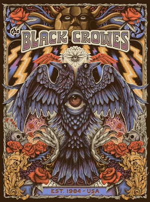 The Black Crowes Est. 1984 by Paul Kreizenbeck (Main Edition)