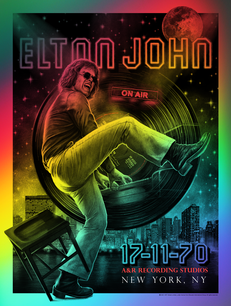 Elton John 17-11-70 50th Anniversary (Rainbow Foil Edition)