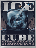 "Ice Cube ""THE BOMB"" Minneapolis 1991 (Foil Edition)"