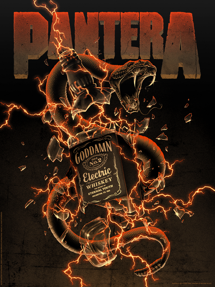 Pantera Goddamn Electric by Matt Ryan Tobin (Dirt Edition)