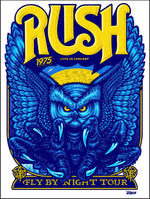 Rush - Fly By Night Tour 45th Anniversary by Ames Bros (Main Edition)