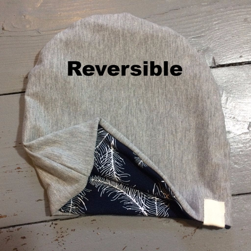 Reversible Slouchy Hat