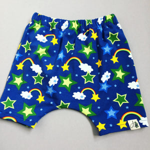 Rainbow/Star Harem Shorts (12-18m)
