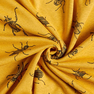 Mustard Bug Fleece Leggings