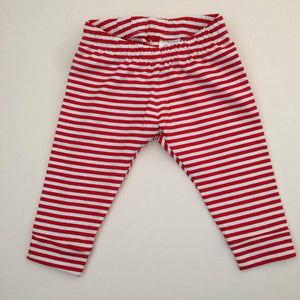 Candy Stripe Leggings (6-9m)