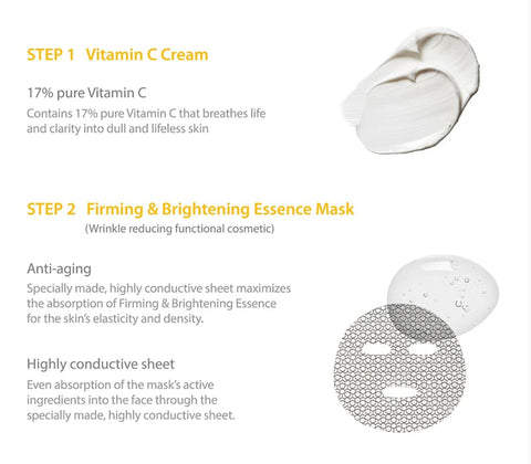 DIVE VITAMIN CARE MASK STEP 1 & 2