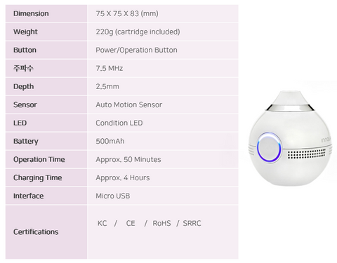 INNOLiF HIFU Device Product Specification