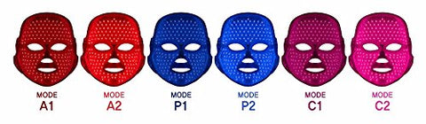 deesse LED Face Mask 6 Treatment Modes