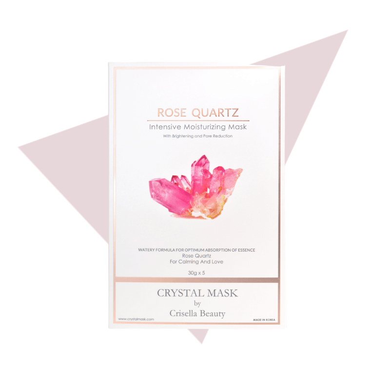 Crystal Mask Rose Quartz Intensive Moisturizing Mask Default Title